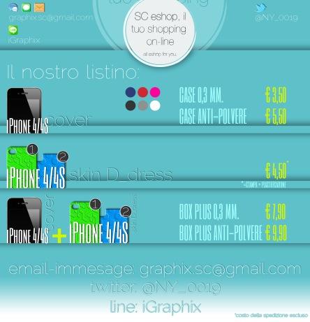 banner listino prezzi eshop iP4 dress